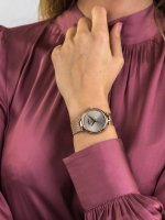kwarcowy Zegarek damski Adriatica Bransoleta A3689.9147Q - duże 5
