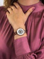 kwarcowy Zegarek damski Adriatica Bransoleta A3718.9113Q - duże 5