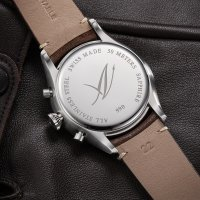 zegarek Aerowatch 79990-AA03 LES GRANDES CLASSICQUES QUARTZ damski z chronograf Les Grandes Classiques