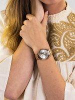 kwarcowy Zegarek damski Anne Klein Bransoleta AK-3416SVRG - duże 5