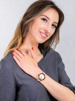 kwarcowy Zegarek damski Anne Klein Pasek AK-2992RGLP - duże 4