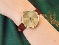 Anne Klein AK-2996CHRU zegarek klasyczny Pasek