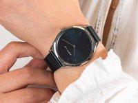 Bering 17039-307 zegarek srebrny klasyczny Ultra Slim bransoleta