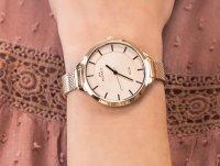 kwarcowy Zegarek damski Bisset Klasyczne NOA BSBE93RIRX03BX - duże 6