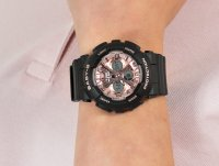 kwarcowy Zegarek damski Casio Baby-G BA-130-1A4ER - duże 6