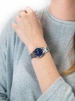 Casio LTS-100D-2A2VEF damski zegarek Klasyczne bransoleta