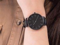 Cluse CLA002 Full Black + Nude Strap zegarek klasyczny La Boheme