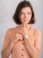 kwarcowy Zegarek damski Cluse La Boheme Rose Gold White CW0101201024 - duże 4