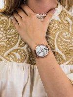 kwarcowy Zegarek damski Cluse La Roche Mesh Rose Gold/White Marble CW0101204001 - duże 5