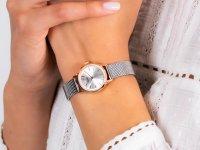 kwarcowy Zegarek damski Cluse La Vedette Mesh Rose Gold/Silver CW0101206004 - duże 6