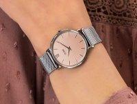 kwarcowy Zegarek damski Cluse Minuit Silver Rose Gold CW0101203029 - duże 6