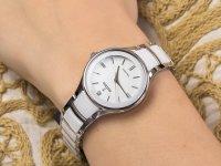 kwarcowy Zegarek damski Festina Ceramic F20474-1 - duże 6