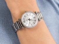kwarcowy Zegarek damski Fossil Carlie CARLIE ES4341 - duże 6