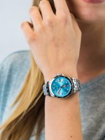 kwarcowy Zegarek damski Fossil FB-01 FB-01 ES4742 - duże 5