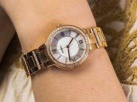 kwarcowy Zegarek damski Fossil Virginia VIRGINIA ES3284 - duże 6