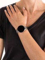 zegarek Garett 5903246286311 Smartwatch Garett Lady Bella srebrny stalowy damski z krokomierz Damskie