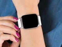 Garett 5903246286403 Smartwatch Garett Lady Viki biały zegarek sportowy Damskie