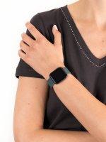 zegarek Garett 5903246287127 Smartwatch Garett Women Eva RT niebieski stalowy damski z krokomierz Damskie
