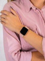 zegarek Garett 5903246287097 Smartwatch Garett Women Eva RT złoty damski z krokomierz Damskie