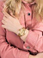kwarcowy Zegarek damski Guess Bransoleta W0638L2 - duże 5
