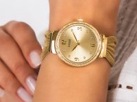 kwarcowy Zegarek damski Guess Bransoleta W1083L2 - duże 6
