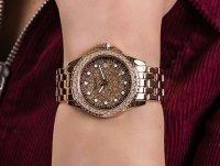 kwarcowy Zegarek damski Guess Bransoleta W1235L3 - duże 6