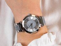 Guess W1288L1 zegarek srebrny klasyczny Damskie bransoleta