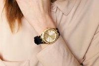 kwarcowy Zegarek damski Guess Pasek GW0034L1 - duże 10