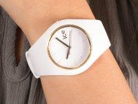 kwarcowy Zegarek damski ICE Watch Ice-Glam Ice Glam White rozm. M ICE.000917 - duże 6