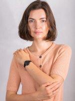 kwarcowy Zegarek damski Lacoste Damskie CANNES 2001123 - duże 4