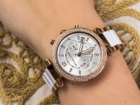 kwarcowy Zegarek damski Michael Kors Parker PARKER MK5774 - duże 6