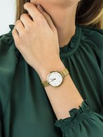 kwarcowy Zegarek damski Obaku Denmark Bransoleta V195LXGIMG - duże 5