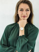 kwarcowy Zegarek damski Obaku Denmark Bransoleta V211LXGIMG - duże 4