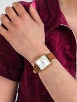 kwarcowy Zegarek damski Rosefield Boxy Boxy QSCG-Q029 - duże 5