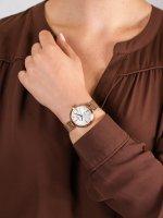 kwarcowy Zegarek damski Rubicon Bransoleta RNBE30RISX03BX - duże 5