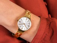 kwarcowy Zegarek damski Rubicon Bransoleta RNBE31GISX03BX - duże 6
