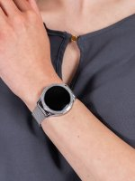 kwarcowy Zegarek damski Rubicon Bransoleta RNBE45SIBX05AX - duże 5