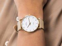 Rubicon RNAD75GISX03BX zegarek złoty klasyczny Pasek pasek