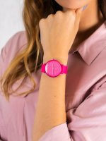 kwarcowy Zegarek damski Skagen Aaren Aaren Kulor Neon Pink Silicone SKW2822 - duże 5