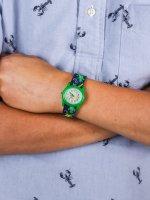 kwarcowy Zegarek dla dzieci  Dla dzieci Time Teacher Machines TWG014900 - duże 5