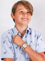 kwarcowy Zegarek dla dzieci  Weekender Weekender Seasonal Timex x Peanuts Charlie Brown TW2R41100 - duże 4