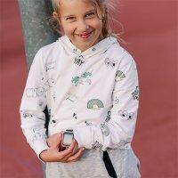 kwarcowy Zegarek dla dzieci Garett Dla dzieci Smartwatch Garett GPS Junior 2 Różowy 5903246282900 - duże 9
