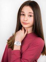 kwarcowy Zegarek dla dzieci ICE Watch Ice-Glitter ICE glitter white silver rozm. S ICE.001344 - duże 4