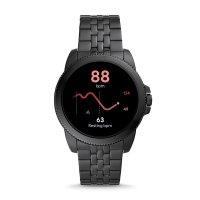 zegarek Fossil Smartwatch FTW4056 kwarcowy męski Fossil Q GEN 5E SMARTWATCH - BLACK STEEL