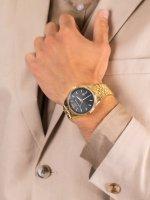 Michael Kors MK8751 męski zegarek Lexington bransoleta