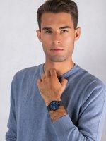 kwarcowy Zegarek męski  Signatur Signatur SKW6655 - duże 4