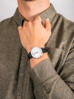 Bisset BSCE74SWSX03BX męski zegarek Klasyczne pasek