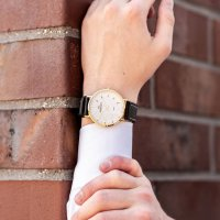 kwarcowy Zegarek męski Bisset Klasyczne BSCE75GISX03BX - duże 8