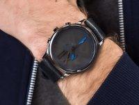 Bisset BSFE89BIBD03AX Ice II Ceramic Chronograph zegarek klasyczny Nowoczesne