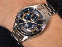 kwarcowy Zegarek męski Casio EDIFICE Momentum EFV-580D-2AVUEF - duże 6